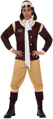 Atosa - Disfraz de aviador para hombre, talla L (50-52) (12044 ...