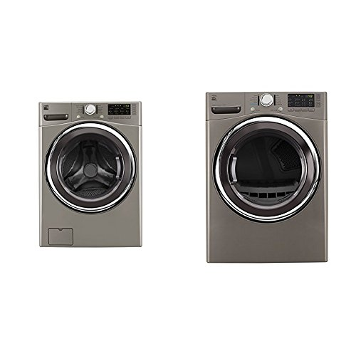 Kenmore Front-Load Laundry 4.5 Electric Dryer Bundle - Me...