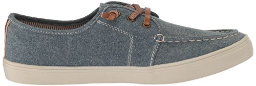 The Children's Place Boys' BB Laceup Street Slipper, Chambray, Youth 12 Medium US Infant - Image 7