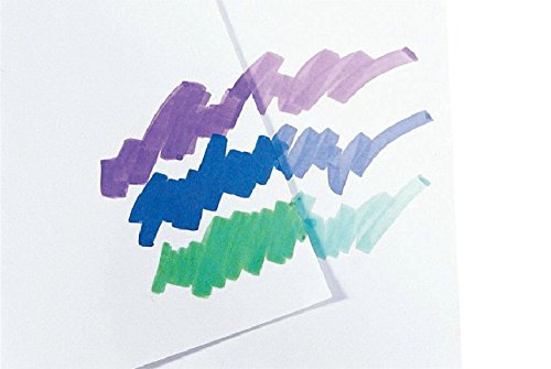 Sax True Flow Multipurpose Coated Drawing Paper - 12 x 18 inches - Pack of 100 - White