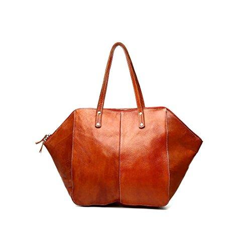 Plover Donna Pelle di mucca Borse Vintage Borse Borse a tracolla Tote Bags