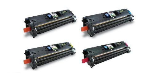 (Amsahr EP -87BK High Yield Remanufactured Replacement Canon Toner Cartridge for Select Printers/Faxes - 1 Black/ 3 Color)