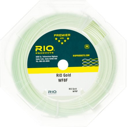 RIO Gold Fly Line Lumalux, WF5F/90ft, Outdoor Stuffs