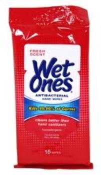 12 Piece Wipes (Wet Ones Wipes Travel 15 Pk (12 Pieces) [Misc.])