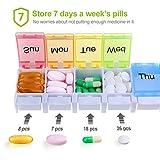 AUVON iMedassist Weekly Pill Organizer Arthritis