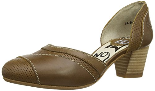 FLY Damen Braun Pumps Klee London Camel Z0q7wZ
