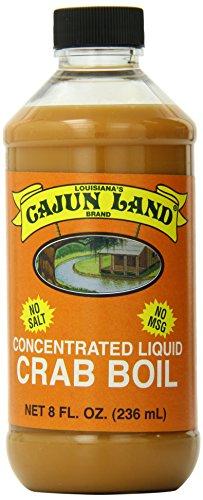 Cajun Land Liquid Boil, 8 Ounce