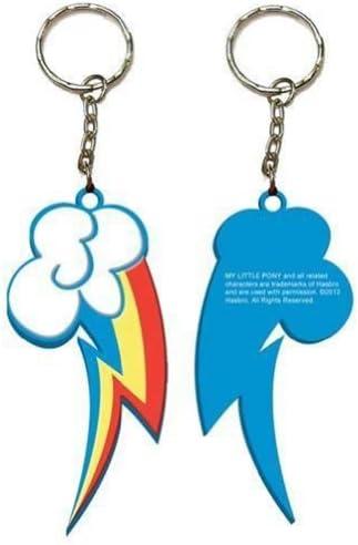 My Little Pony レインボーダッシュバッジと魅力レインボーストラップ