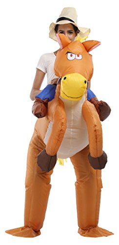 Carin (Riding A Horse Costumes)