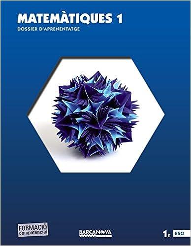 Descargas gratis ebooks epub Matemàtiques 1r ESO. Dossier d ' aprenentatge (ed. 2015) (Materials Educatius - Eso - Matemàtiques) 8448936167 PDF ePub MOBI