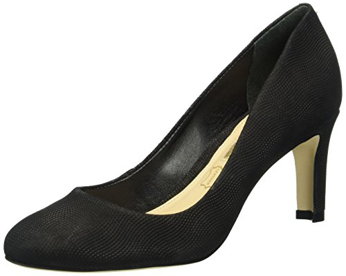 Buffalo Women's Zs 6061-15 Nobuck Pointed Closed Toe Heels Black (Black 01) ppwGa6p5Z