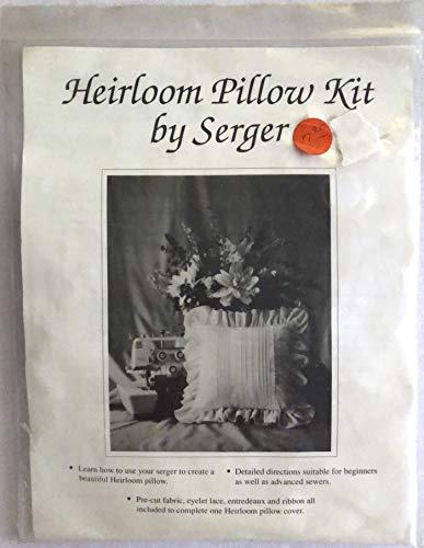 Serger Heirloom Pillow Kit Item No. 43284
