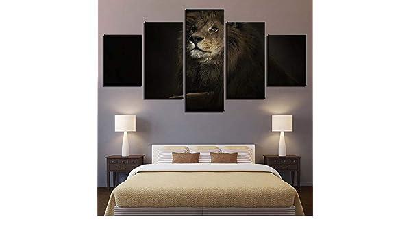 mmwin Decoración para el hogar Lienzo 5 Unidades HD Imprime ...