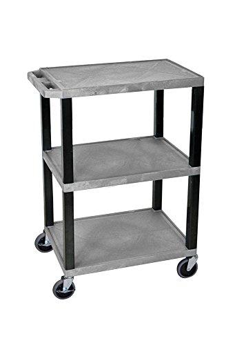 H WILSON WT34GYS Commercial Busing Cart Shelf, 34