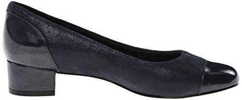 Trotters Womens Danelle Dress Pump Blu Scuro Brevetto