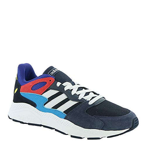 adidas Chaos Men's Sneaker 9.5 D(M) US Ink-White-Shock Red ()