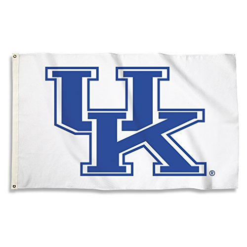 (NCAA Kentucky Wildcats Flag with Grommets, 3' x 5', Blue)