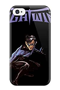 Best 4853034K56130771 Durable Nightwing Back Case/cover For Iphone 4/4s