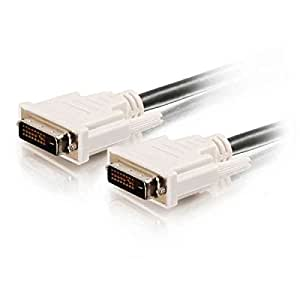C2G/Cables to Go  26911 2m DVI-D M/M Dual Link Digital Video Cable (6.6ft)