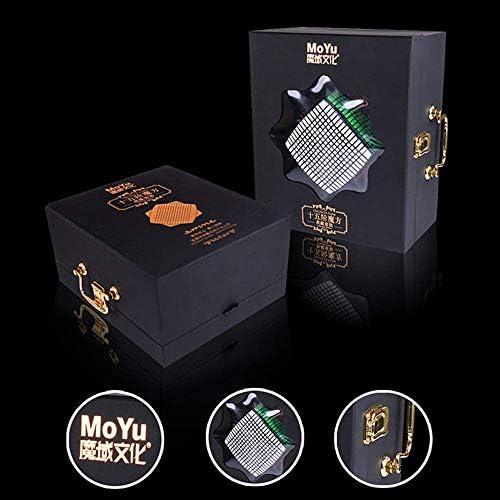 MZStech MOYU 15x15 Cubo mágico Pegatina Velocidad Cubo: Amazon.es: Juguetes y juegos