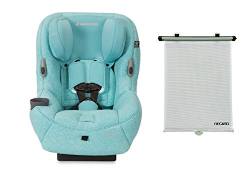 2016 Maxi-Cosi Pria 85 Special Edition Convertible Car Seat, Triangle Flow with BONUS Recaro Window Shade