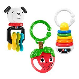 Fisher-Price Clacker Teether Trio ()