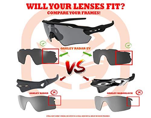 edb55d9a2200b Radar EV Path Replacement Lenses by SEEK OPTICS to fit OAKLEY Sunglasses