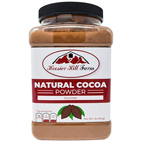 Hoosier Hill Farm Natural Cocoa Powder, 1 lb ()