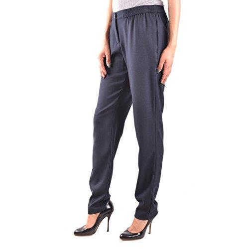 Pantalone Donna ARMANI JEANS 6X5P22 5N0LZ Classico Elegante Viscosa Moda azul oscuro