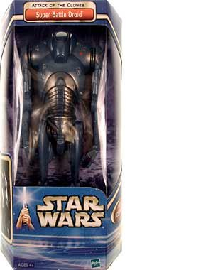 C3po Costume Real (Star Wars Attack of the Clones Super Battle Droid Boxed Figure)