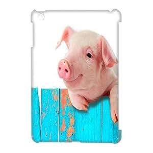 Ipad Mini Funny Piggy 3D Art Print Design Phone Back Case Personalized Hard Shell Protection HG025314