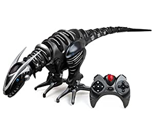 WowWee Roboraptor Toy, Metallic Black