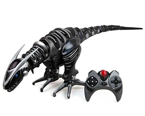 WowWee Roboraptor Toy, Metallic Black