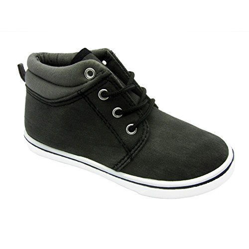 Blue Suede Shoes Boys Sneaker B-LAXI-H Laces BLACK Size - And Kids M H Nyc