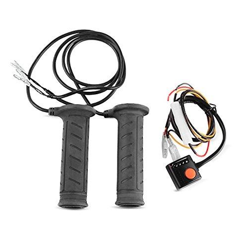 Puñ os calefactable (par) Suzuki V-Strom 1000 Daytona, 22 mm, negro