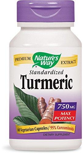 Turmeric Max Potency 750 Milligrams 60 Capsules