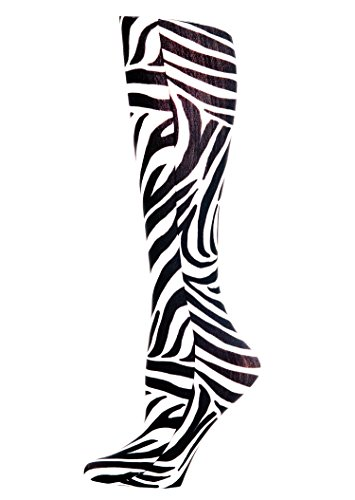 Complete Medical Blue Jay Fashion Socks 15-20 mmHg, Zebra, 1 Pound from Complete Medical