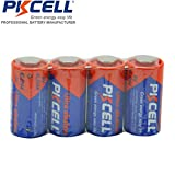 PKCELL 4 Pack 4LR44 4A76 6V Alkaline Batteries for Dog Training Collars