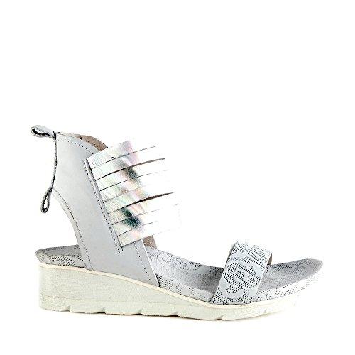 Felmini - Zapatos para Mujer - Enamorarse com Dorini 9311 - Sandalias de cuña - Cuero Genuino - Varios colores - 0 EU Size Varios colores
