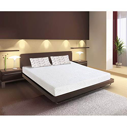 Starsun Depot Queen Size Cushion Firm 3 Layer 6 Inch Thick Memory Foam Mattress