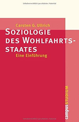 Soziologie des Wohlfahrtsstaates pdf epub