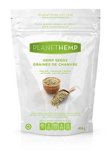 Planet Hemp Hulled Hemp Seeds - 454g by Planet Hemp