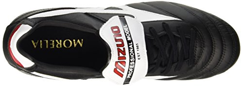 Noir Mizuno Chaussures Black Red de Football Morelia White II Homme MD g7wqgrO0