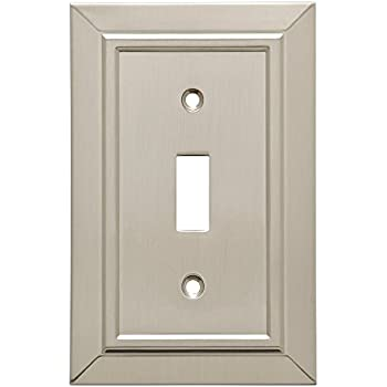Franklin Brass W35217-SN-C Classic Architecture Single Toggle Switch Wall Plate/Switch Plate/Cover, Satin Nickel