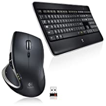 Logitech Wireless Performance Combo Mx800 Illuminated Keyboard and Mouse (920-006237)