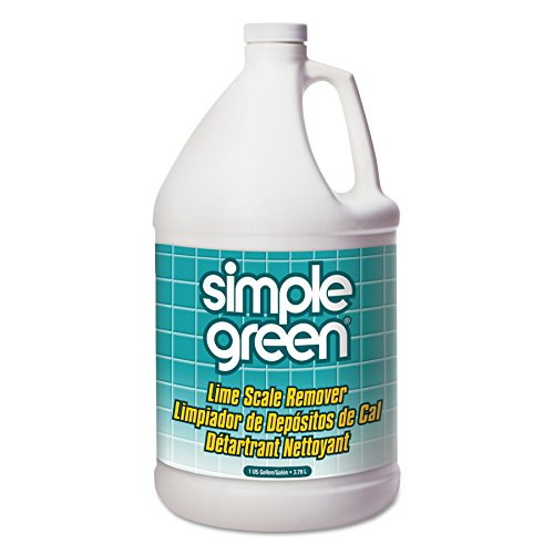 Simple Green 50128 Lime Scale Remover, Wintergreen, 1 gal, Bottle