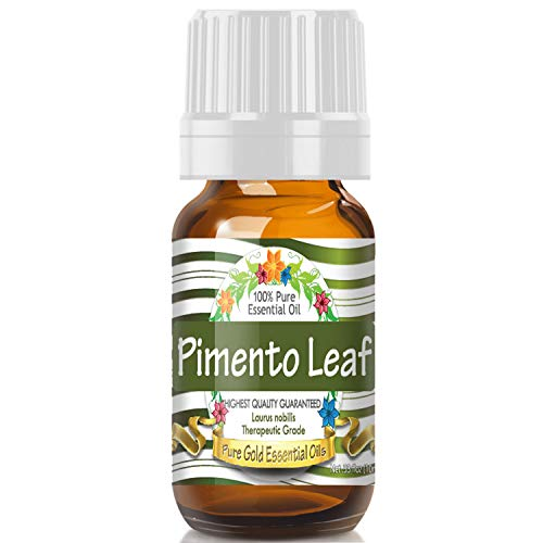 Pimento Leaf (Bay Rum) Essential Oil (100% Pure, Natural, UNDILUTED) 10ml - Best Therapeutic Grade - Perfect for Your Aromatherapy Diffuser, Relaxation, -