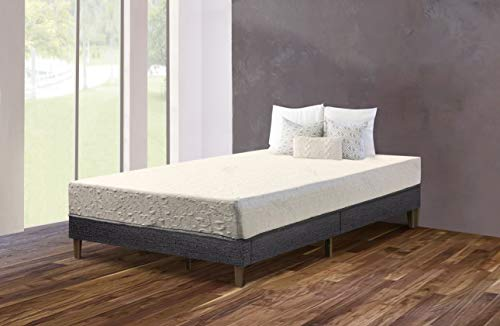 Purest Of America 6 inch Mattress with 2.5 inch Memory Foam QUEEN
