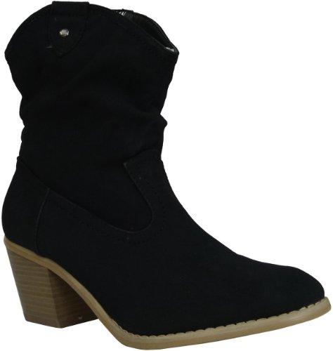 modische Damen Western Stiefeletten Boots