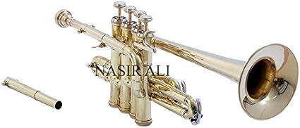 Piccolo Trumpet BRASS Nasir Ali PiTr-02 Bb